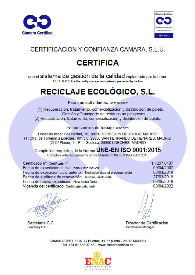 CERT-UNE-EN-ISO 9001-2008-RECECO
